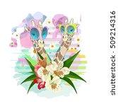 abstract watercolor...   Shutterstock .eps vector #509214316