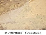 close up of oil painting... | Shutterstock . vector #509215384