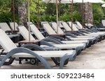 relaxing chairs beside of...   Shutterstock . vector #509223484
