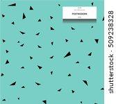 postmodern graphic pattern....   Shutterstock .eps vector #509238328
