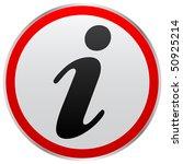 information button   Shutterstock .eps vector #50925214