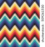 tribal seamless colorful... | Shutterstock .eps vector #509261530