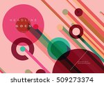 abstract dynamic background ... | Shutterstock .eps vector #509273374