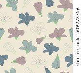 seamless color vector... | Shutterstock .eps vector #509278756