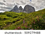 sassolungo   sassopiatto... | Shutterstock . vector #509279488