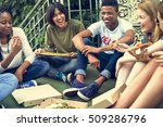 people friendship togetherness... | Shutterstock . vector #509286796