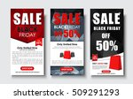 set of vertical web banners for ... | Shutterstock .eps vector #509291293