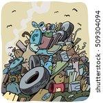 Pile Of Household Trash