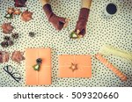 packaging of gifts for... | Shutterstock . vector #509320660