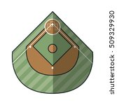 league of baseball sport design | Shutterstock .eps vector #509329930