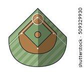league of baseball sport design | Shutterstock .eps vector #509329930