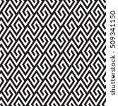 vector seamless pattern. modern ... | Shutterstock .eps vector #509341150
