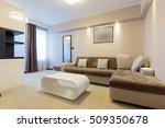 modern hotel room interior   Shutterstock . vector #509350678