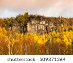 sandstone rock formation in the ... | Shutterstock . vector #509371264