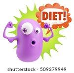 3d illustration gym fitness...   Shutterstock . vector #509379949
