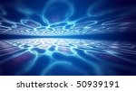 creative background with blue... | Shutterstock . vector #50939191