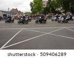 saint quentin  france july 14 ... | Shutterstock . vector #509406289