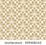 seamless abstract floral... | Shutterstock .eps vector #509408143