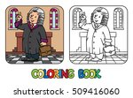 coloring picture or coloring... | Shutterstock .eps vector #509416060