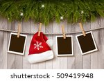 christmas background with... | Shutterstock .eps vector #509419948