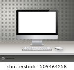 device set of realistic... | Shutterstock .eps vector #509464258