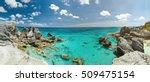 Panorama Of Rocky Bermuda Coas...