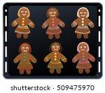 Gingerbread Women On Baking...