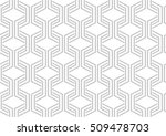 abstract geometric pattern with ... | Shutterstock . vector #509478703