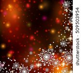 christmas and new year colorful ... | Shutterstock .eps vector #509503954