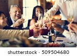 restaurant chilling out classy... | Shutterstock . vector #509504680