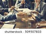 business corporate people... | Shutterstock . vector #509507833