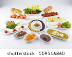 traditional turkish breakfast | Shutterstock . vector #509516860