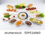 traditional turkish breakfast | Shutterstock . vector #509516860