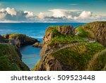 carrick a rede  rope bridge ... | Shutterstock . vector #509523448
