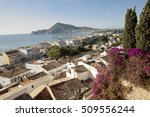 views of the village of altea ... | Shutterstock . vector #509556244
