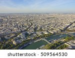 aerial view over the city of... | Shutterstock . vector #509564530