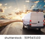 transport truck. 3d rendering | Shutterstock . vector #509565103