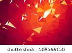 abstract low poly background ... | Shutterstock . vector #509566150
