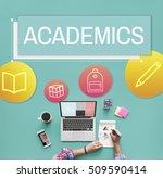 study school academic icon... | Shutterstock . vector #509590414
