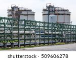 oil industry refinery factory   ... | Shutterstock . vector #509606278