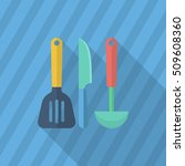 kitchenware knife spatula spoon ...