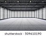 3d rendering interior empty... | Shutterstock . vector #509610190