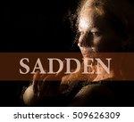 sadden written on virtual...   Shutterstock . vector #509626309