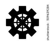 gear wheel icon | Shutterstock .eps vector #509639284