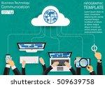 computer cellphone tablet...   Shutterstock .eps vector #509639758