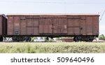 railway freight wagon | Shutterstock . vector #509640496