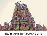 kapaleeswarar temple in chennai ... | Shutterstock . vector #509648293