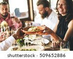 restaurant chilling out classy...   Shutterstock . vector #509652886