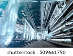 industrial zone  steel... | Shutterstock . vector #509661790