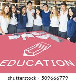 education college learning... | Shutterstock . vector #509666779
